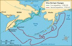 The voyages of Vitus Bering