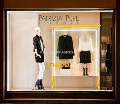 Window display of Patrizia Pepe Firenze photographer in Paris by Brijesh Patel for The Kalory Agency