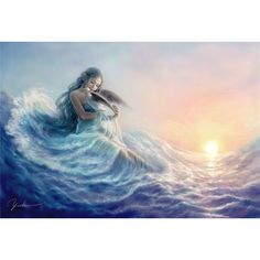 Fairy princess ❤ liked on Polyvore featuring mermaids, backgrounds, art, fantasy and fairies