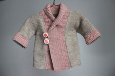 Ravelry: sweetkm's Shawl Collar Baby Coat