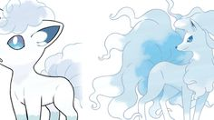 """Fire Pokémon turning into ice Pokémon. New colors for old favorites. Introducing """"Alola Forms,"""" which will debut in Pokémon Sun and Moon."""