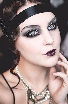 isadora halloween the great gatsby makeup . isadora halloween the great gatsby makeup . Great Gatsby Makeup, 1920 Makeup, Vintage Makeup, Flapper Makeup, The Great Gatsby, 1920s Makeup Gatsby, Burlesque Makeup, Roaring 20s Makeup, Flapper Costume