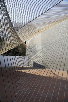 MMX, ECO PAVILLION 2011: string installations