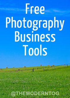 """Free Photography Business Tools  Unrelated side note: Using word """"legit"""" makes me feel young and trendy. But I'm not really. I'm a quirky mom with a camera that has a crazy love for business who is in no way a rock star. And I'm highly amused that I used it in this post, even though you're probably rolling your eyes right now…."""