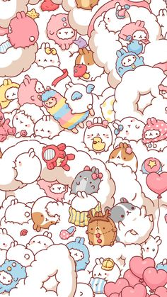 kawaii, wallpaper, and cute afbeelding