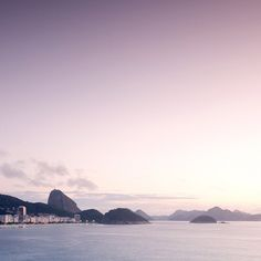 Rio at sunrise. Photo courtesy of bmtravelclub on Instagram.