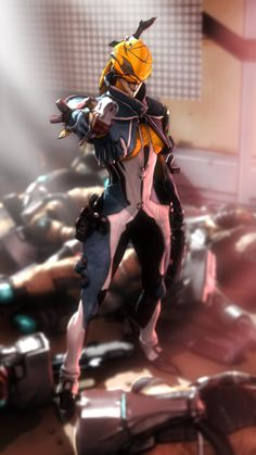 Mesa from Warframe after ruining some lives. Garry's Mod and Photoshop If you like what I do and want to show some support, drop by my Patreon: www.patreon.com/lonefirewarrio…