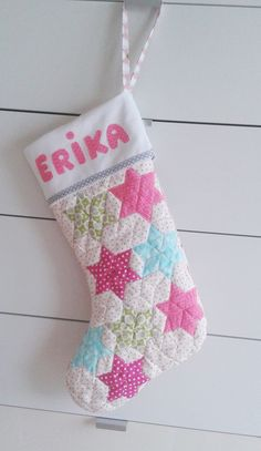 e729add9d Personalized Pink Christmas Stocking