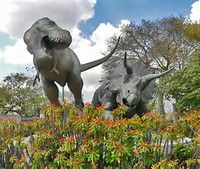 Image result for Tyrannosaurus Rex Attack Extinct Animals, Tyrannosaurus Rex, Elephant, Image, Elephants