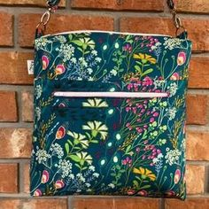 SEWING PATTERN  Mako Bag PDF sewing pattern Boxy bag on etsy. The Mako Bag is a boxy bag with a front zipper pocket large enough to fit keys and a phone.This bag has a square top zip opening and has a option for a foam bottom to provide further structure.