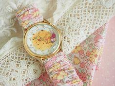 Fabric & Elastic Watch StrapTutorial - Pretty by Hand -