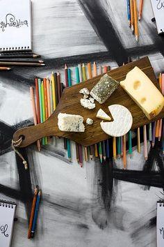 charcoal and cheese #kinfolk magazine