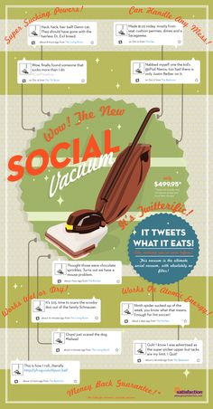 #SocialMedia #Infographics - Infographic: The Social Media Vacuum
