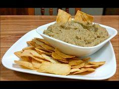 Como preparar Pure de Berenjena asada - Receta - YouTube