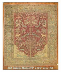 Room 9.8 x 12.9 Persian, Meshed (#8194) at JDOrientalRugs.com