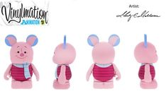 "Amazon.com: Animation Series 5 Piglet from Winnie Pooh Disney Vinylmation 3"" inch Figure: Toys & Games"