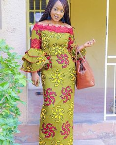 Collection of the most beautiful and latest ankara aso ebi styles and designs of 2018 you must try if you love something aso ebi African Fashion Ankara, African Inspired Fashion, African Print Dresses, African Dresses For Women, African Print Fashion, African Wear, African Attire, African Women, African Traditional Dresses