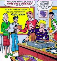 Archie: girl disc jockey