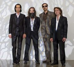 Grinderman are an alternative rock band formed by Nick Cave, Warren Ellis and Martyn P. Casey and Jim Sclavunos in London, 2006.