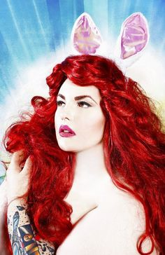 The beautiful Tess Munster.  Obviously artificial, but look at that color!