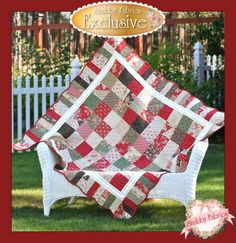 Holiday Charm Quilt