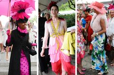 The Women's Committee of Central Park Conservancy hosted the 34th annual luncheon in the garden at 105th Street. Here is a look at the fanciful fashion.