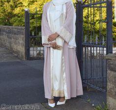 Abaya Fashion, Modest Fashion, Women's Fashion, Blue Abaya, Modern Abaya, Muslim Women Fashion, Abaya Designs, Mode Hijab, Modest Outfits
