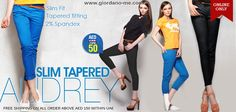 UAE Online Shopping Newsflash!  Audrey Slim Tapered - NOW AED 50  http://www.giordano-me.com/User/ProductView.aspx?gust=0=5  Free shipping on all order above AED 150 within UAE.  Shop Now! :)