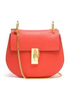CHLOÉ - Grained Leather Drew Bag