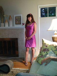 Megan in Bridesmaid's dress