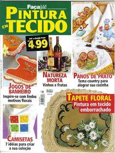 FAÇA JÁ PINTURA EM TECIDO Nº 15 - Rosana Carvalho - Picasa Web Albums...FREE MAGAZINE!!