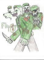 Happy Tree Friends: Flippy/Fliqpy (Fan-art) by jorbyman