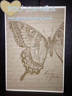 Stampin Up Swallowtail Stamp by Indpendents Stampin Up Demo Traci Cornelius  www.getcreativewithtraci.xo.uk