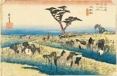 Hiroshige - Foire aux chevaux