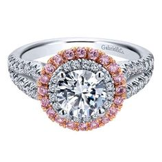 If you are thinking of an engagement ring, why not think pink!