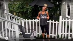 Boston based personal trainer Stacey Schaedler shares her Wifey Workout!