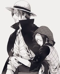 Shanks x Makino One Piece Crew, One Piece Ship, One Piece Comic, One Piece World, One Piece Fanart, One Piece Images, One Piece Pictures, Zoro, Akira