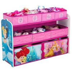 Disney Princess Deluxe Multi-Bin Toy Organizer
