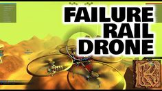Little Fail at flying drone in Robocraft