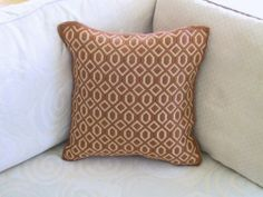 Bargello Pillow Needlepoint Tapestry Cushion Hand by Lisolabella