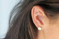 tatouage temporaire dessin lune et  étoiles  noir  de unbijoualamer sur DaWanda.com