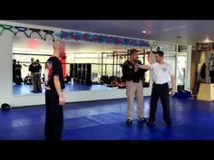 Krav Maga special third party protection - by Michael Rueppel - YouTube