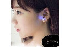 Korea Fashion Hypo-allergenic Glow Luminous Earrings Couple Earrings (Color: Multicolor) $12 USD #wish #onlineshopping #shoppingmadefun #fashion #gift #creativeliving #householdgoods #homedecor #home