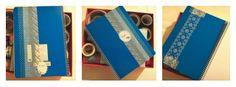 El taller de Naidú: Libreta decorada con washi-tape.