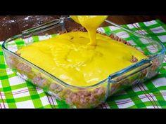 Nichts ist leckerer als gebackene Fleischkartoffeln   Schmackhaft.tv - YouTube Cake Factory, Spanish Cuisine, Carne Picada, Pudding, Desserts, Youtube Hacks, Joy, Decoration, Modern