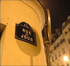 La rue du Jour... la nuit  (Paris 1er)