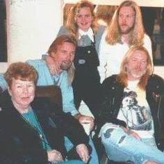 Mama Allman, Michael Allman, Galadrielle Allman, Devon Allman and Gregg Allman.