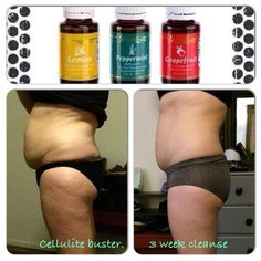 weight loss with young living essential oils Cellulite buster petro chemical cleanse