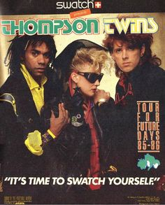 Swatch and the Thompson Twins ad