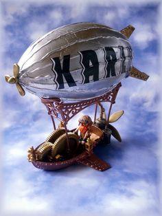 Steampunk Luftschiff, Playmobil
